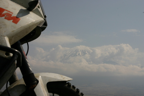 Trip report: Iran 2013. Mount Ararat, Eastern Turkey - Motomorgana, nomads riding around the world on a motorbike adventure.