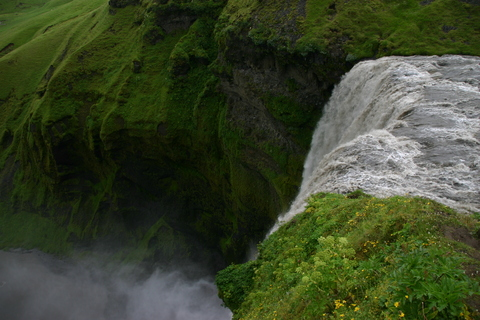 Trip report: Iceland 2011. Skogafoss - Motomorgana, nomads riding around the world on a motorbike adventure.